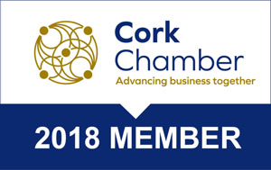Cork Chamber of Commerce Membership badge 2018